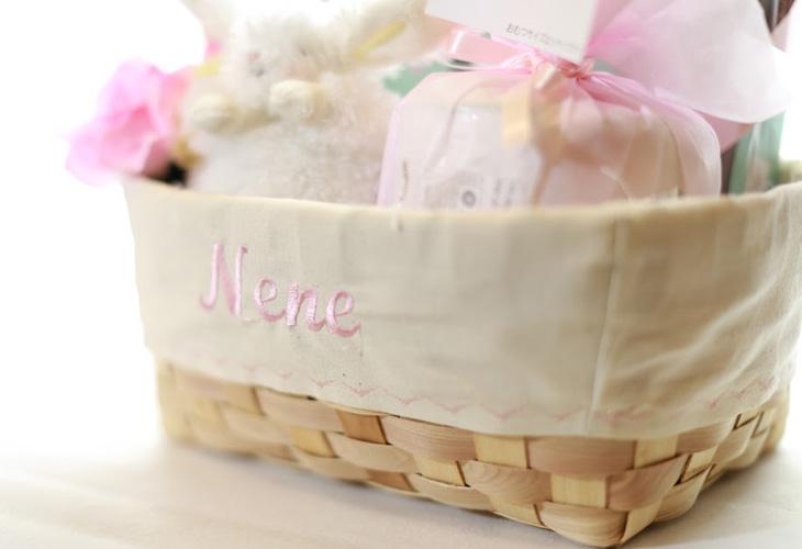 おむつケーキ,おむ  つバスケット,エイデンアンドアネイ,女の子,イメージ2