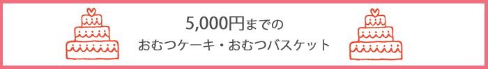5000円,オムツケーキ