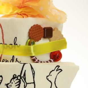 おむつケーキ,ディズニー,歯固め,スイーツ