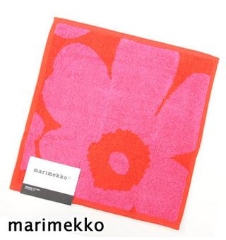 おむつケーキ,マリメッコ,marimekko,女の子,ウニッコ,unikko,ハンドタオル