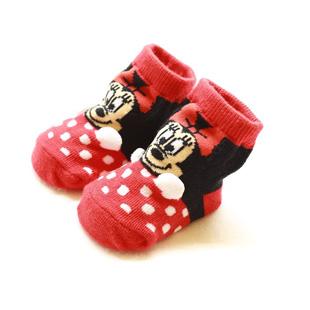 ミニーマウス,靴下