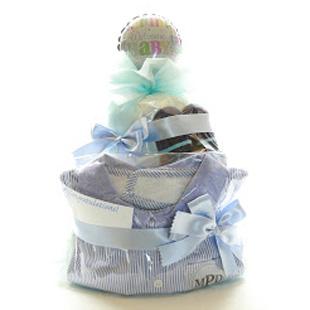 おむつケーキ,出産祝い,マッドパイ,mudpie,男の子