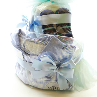 おむつケーキ,おしゃれ,出産祝い,マッドパイ,mudpie,男の子