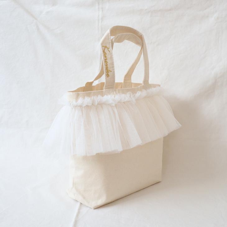 チュールトートバッグ,ママバッグ,マザーズバッグ,ランチバッグ,トートバッグ,名入れトートバッグ,出産祝い,イメージ2
